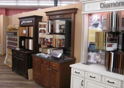 Cabinet center, Home Lumber, Great Bend, Kansas.