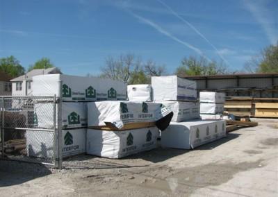 Stacks of lumber, Home Lumber.