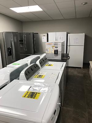 Appliance Department, Home Lumber, Pratt, Kansas